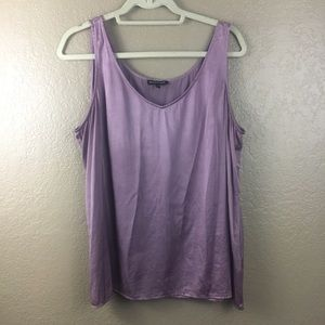 Eileen Fisher tank top size lx lavender color